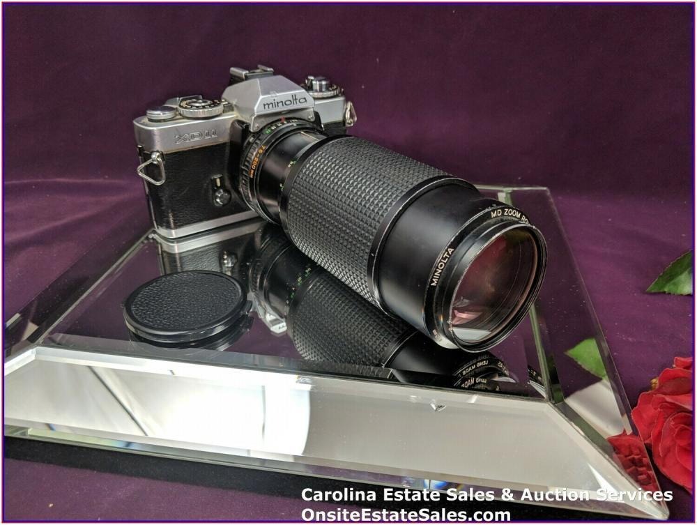 Minolta XD 11 - Vintage Camera & Lens