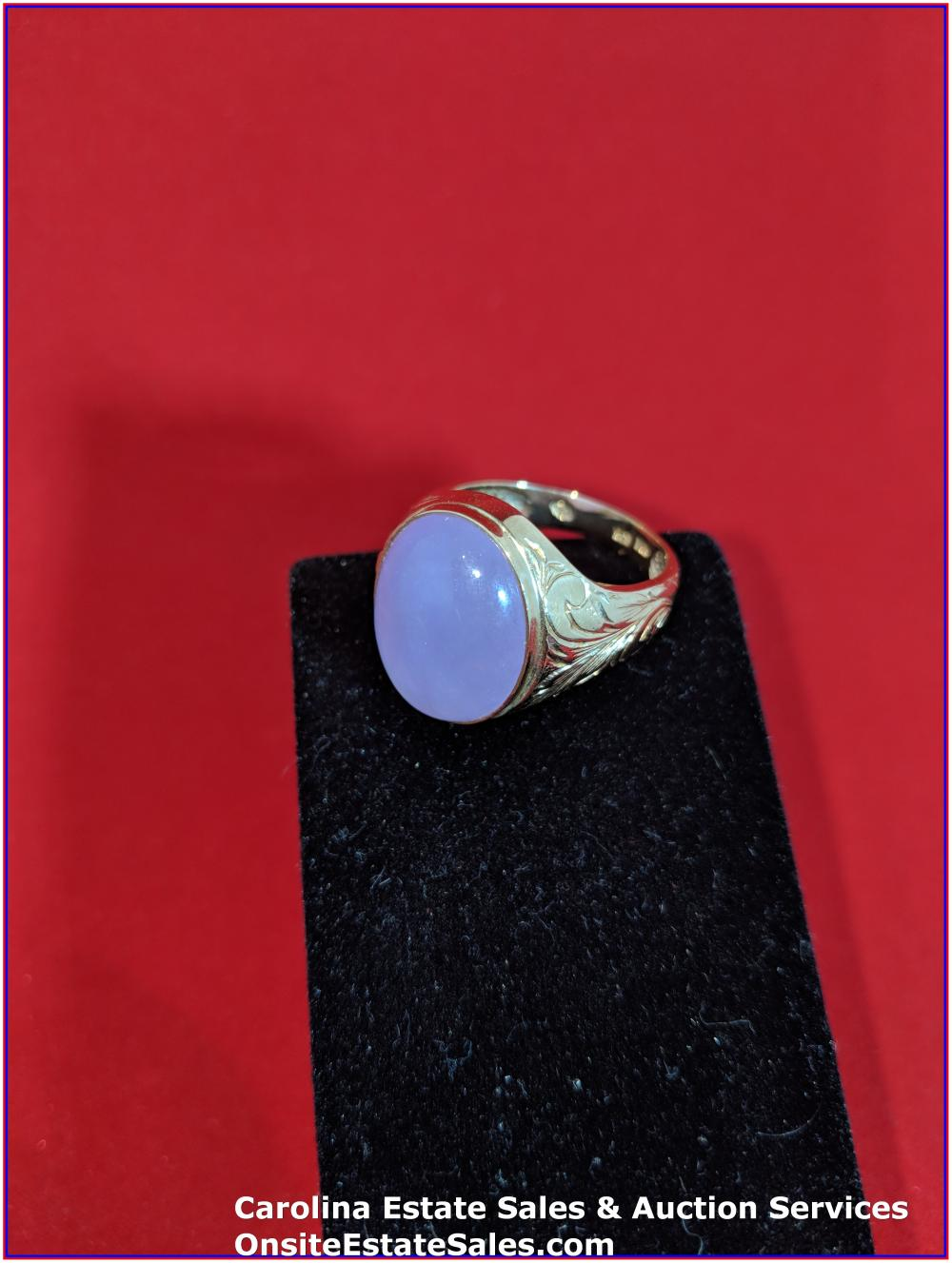 14K Gem Ring Gold 3 Grams Total Weight Includes Stone
