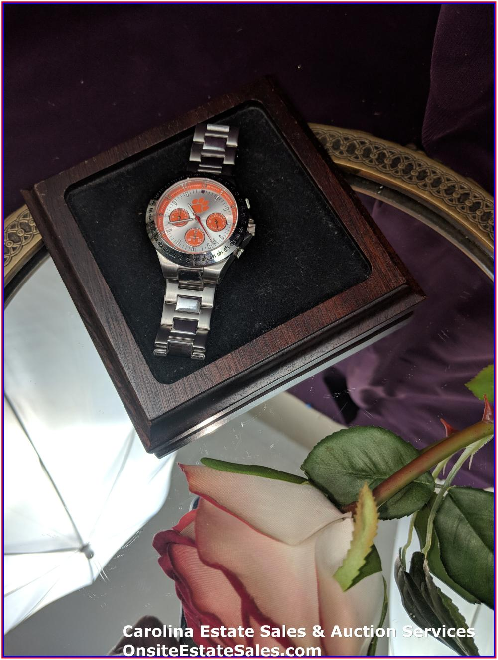 Clemson Mens Watch - Works