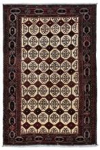 IRAN HAMEDAN ORIENTAL RUG, 4-11 X 7-5, 100% WOOL, SILK & WOOL, HAND WOVEN & HAND KNOTTED