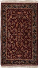 CHINA KASHAN ORIENTAL RUG, 3-0 X 5-0, SILK & WOOL, HAND WOVEN & HAND KNOTTED