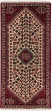 IRAN ABADEH ORIENTAL RUG, 2-5 X 5-0, 100% WOOL, HAND WOVEN & HAND KNOTTED
