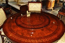 Greek Key Inlay Dining Collection