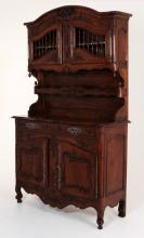 19TH C. FRENCH PROVINCIAL WALNUT VAISSELIER