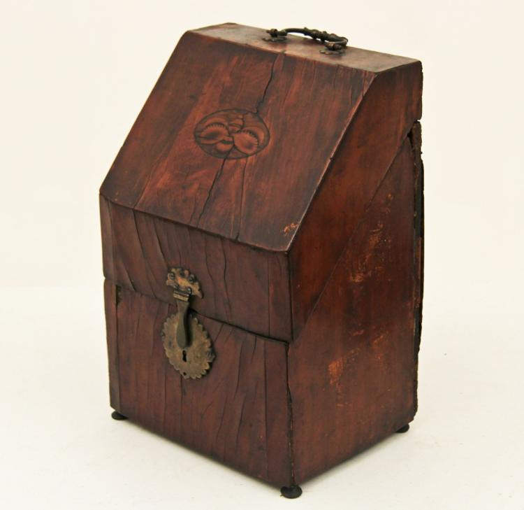 Two 19th C European Wood Boxes