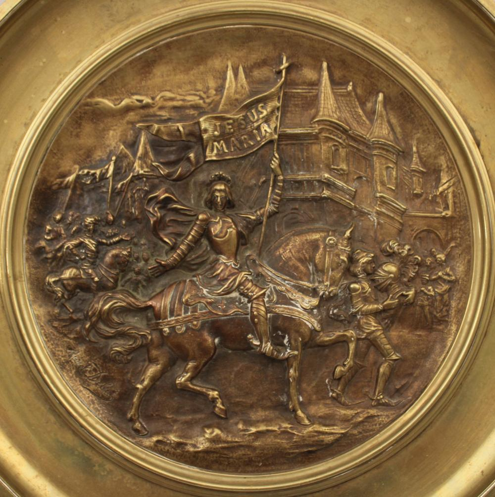 Lot 17: SIGNED FRENCH BRONZE TAZZA