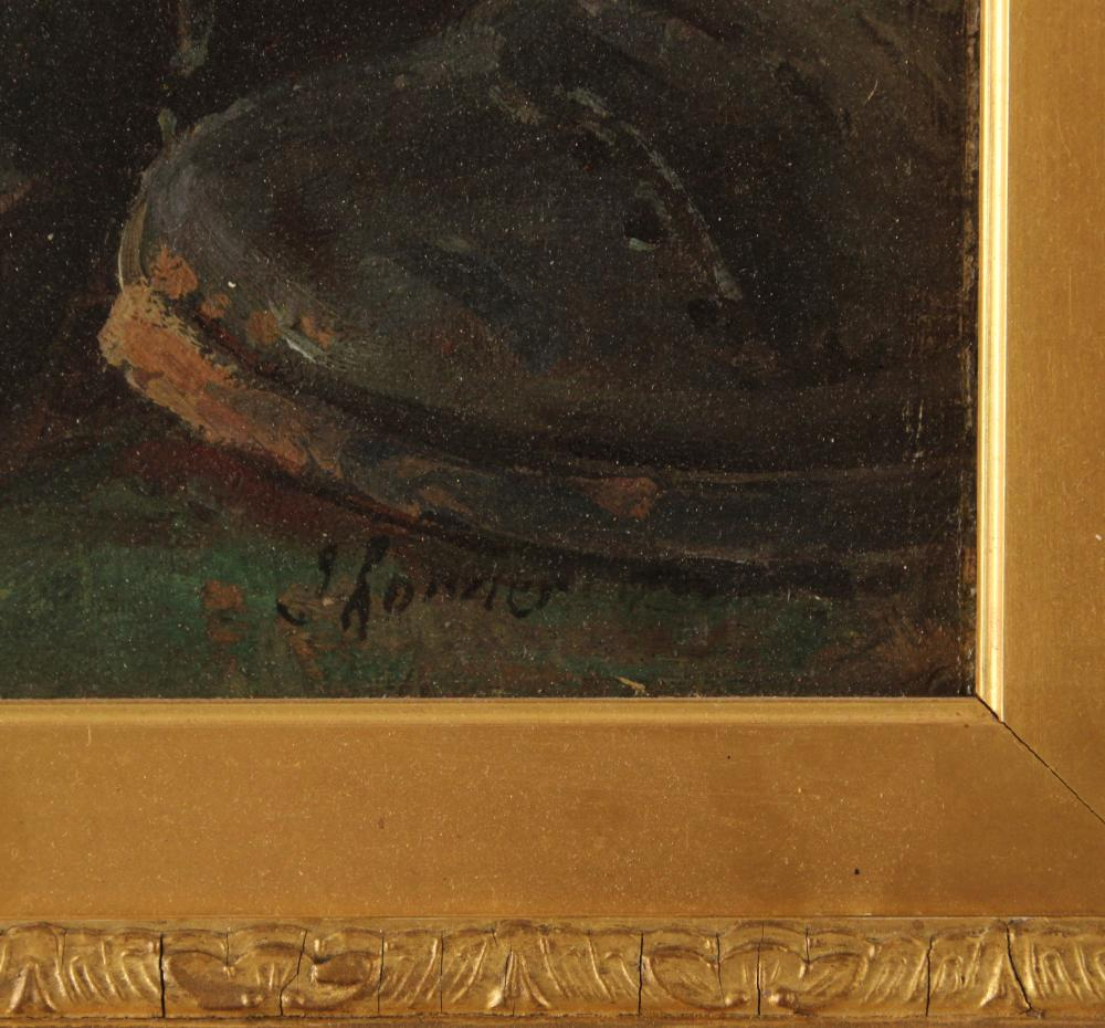 Lot 79: 19TH C. O/C PAINTING (MANNER H. RONNER)