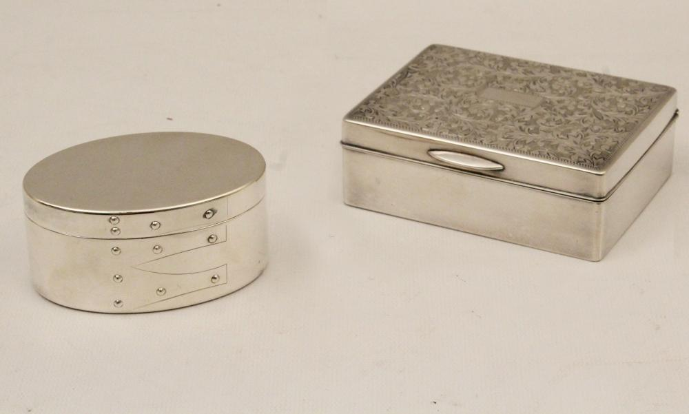 Lot 117: 2 PC. LOT OF STERLING SILVER, INCL. TIFFANY