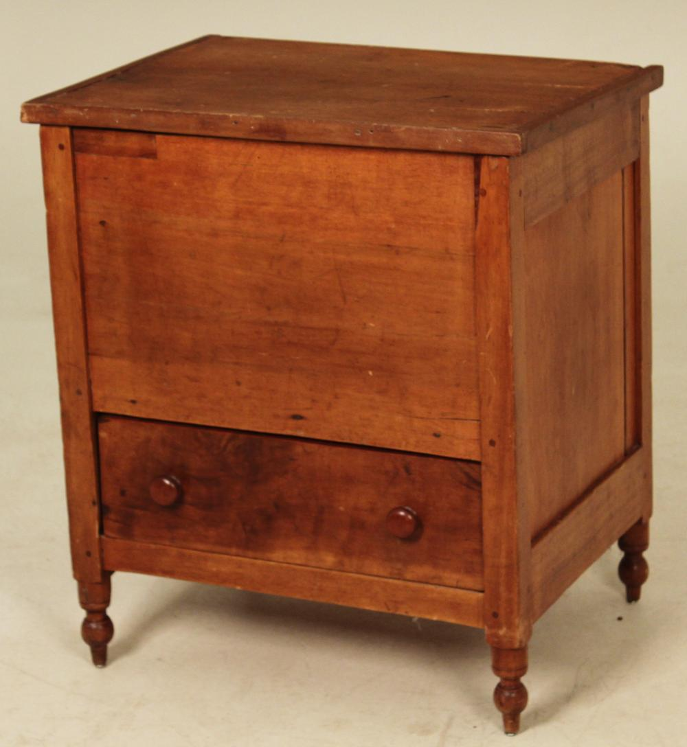 SOUTHERN CHERRY LIFT TOP SUGAR CHEST