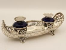Lot 122: 3 PC. MISC. LOT OF ENGLISH STERLING SILVER