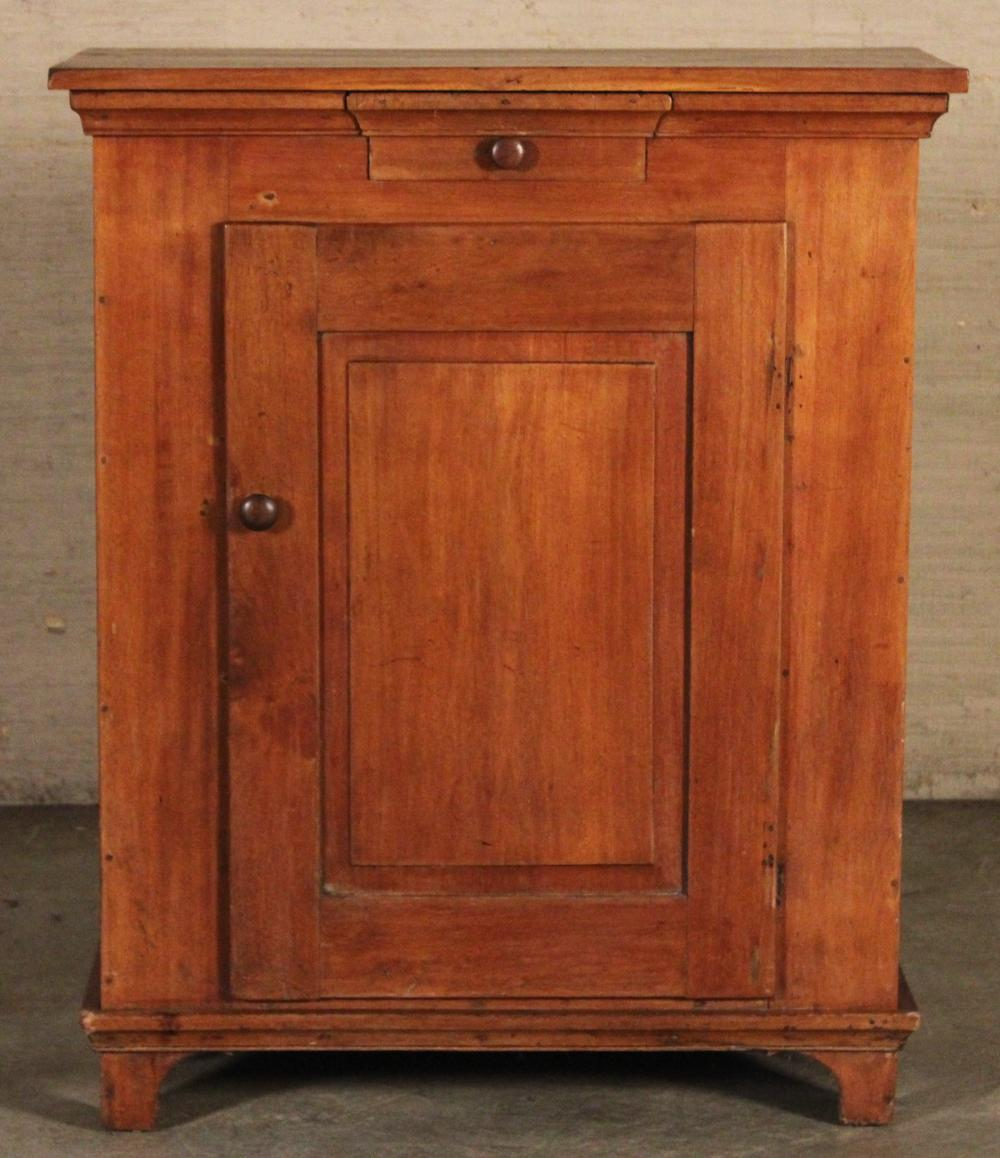 Lot 195: AMERICAN CHERRY JELLY CUPBOARD