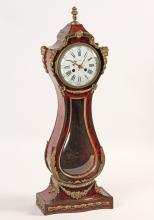 Lot 227: RARE FRENCH BRONZE MTD TABLE MODEL CLOCK