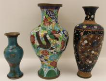 Lot 194: 6 PC. LOT OF CHINESE CLOISONNE