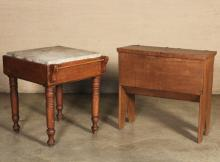 Lot 224: 2 PC. LOT OF AMERICAN SOUTHERN FURNITURE