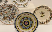 Lot 255: 19 PC. LOT OF FRENCH FAIENCE