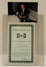 Lot 369: SIGNED JOE DIMAGGIO