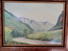 Lot 306: 3 MISC. FRENCH OIL PAINTINGS