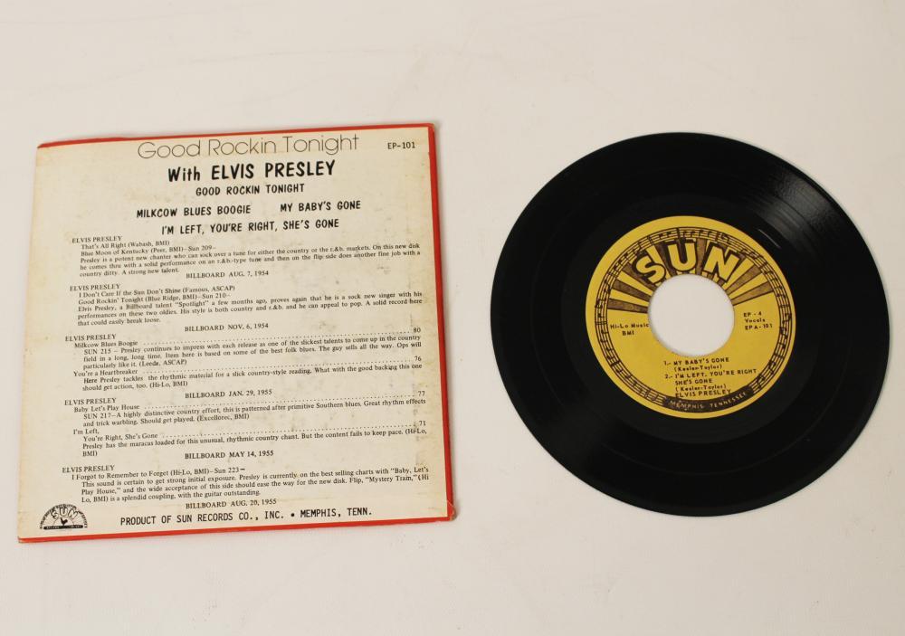 Lot 374: ELVIS PRESLEY SUN EP101/EP102