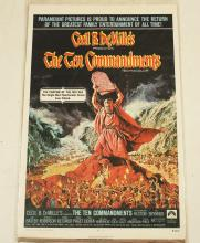 Lot 377: THE TEN COMMANDMENTS