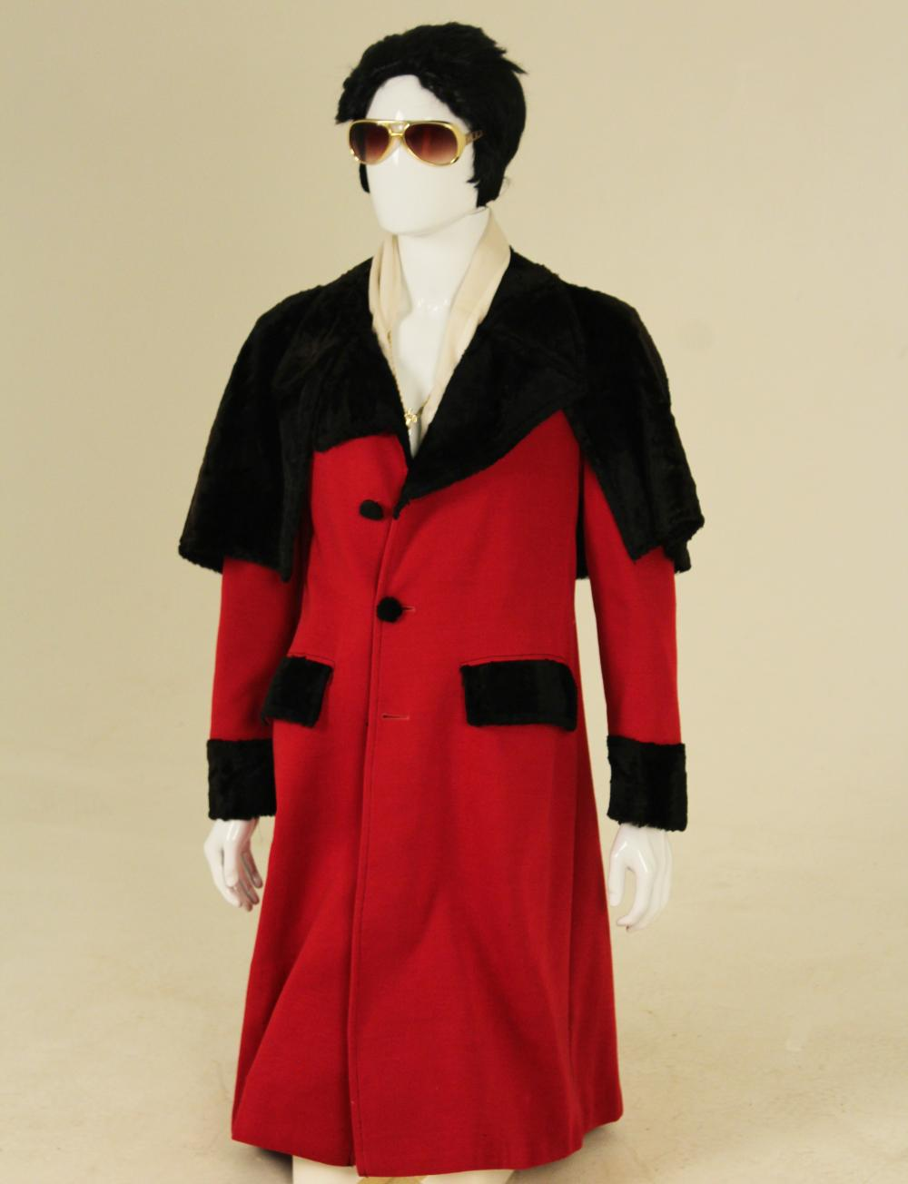 Lot 365: ELVIS PRESLEY OWNED AND WORN SUPER FLY LONG COAT