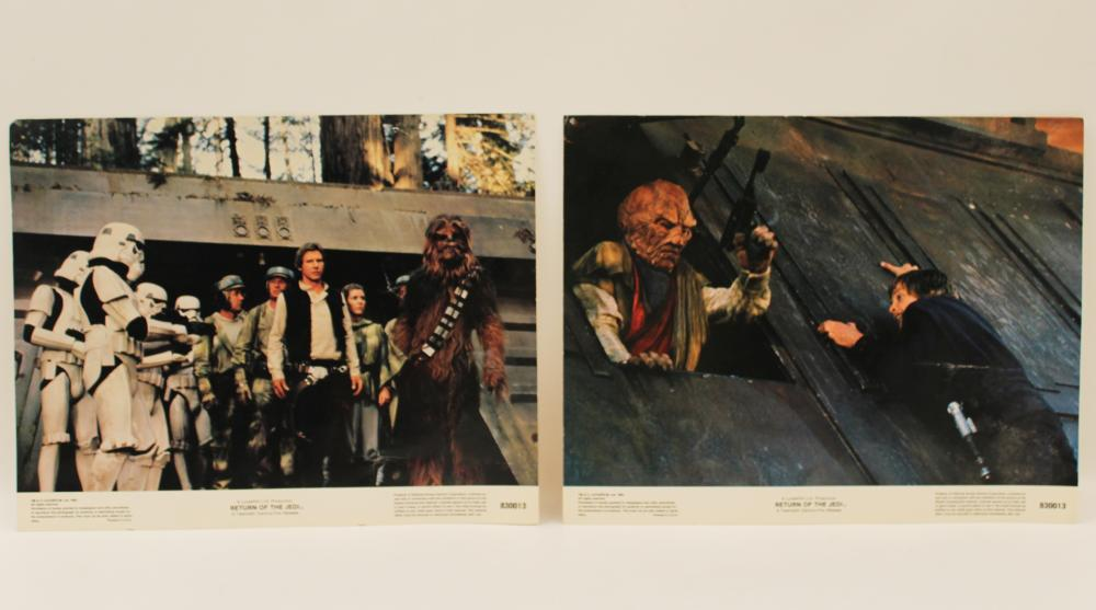 Lot 386: STAR WARS RETURN OF THE JEDI
