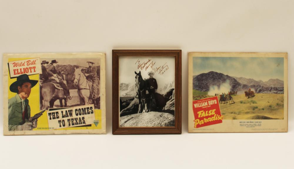 Lot 405: COWBOYS AND CLASSIC WESTERNS