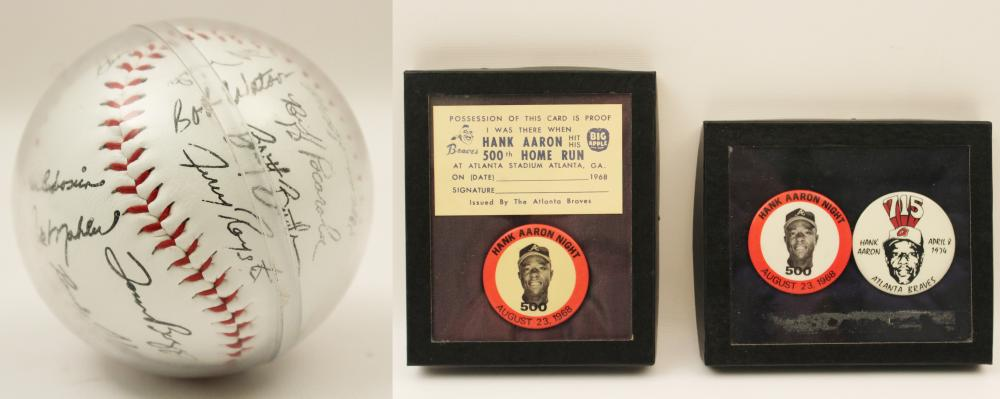 Lot 382: 1982 ATLANTA BRAVES
