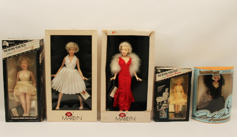 Lot 408: MARILYN MONROE DOLL COLLECTION