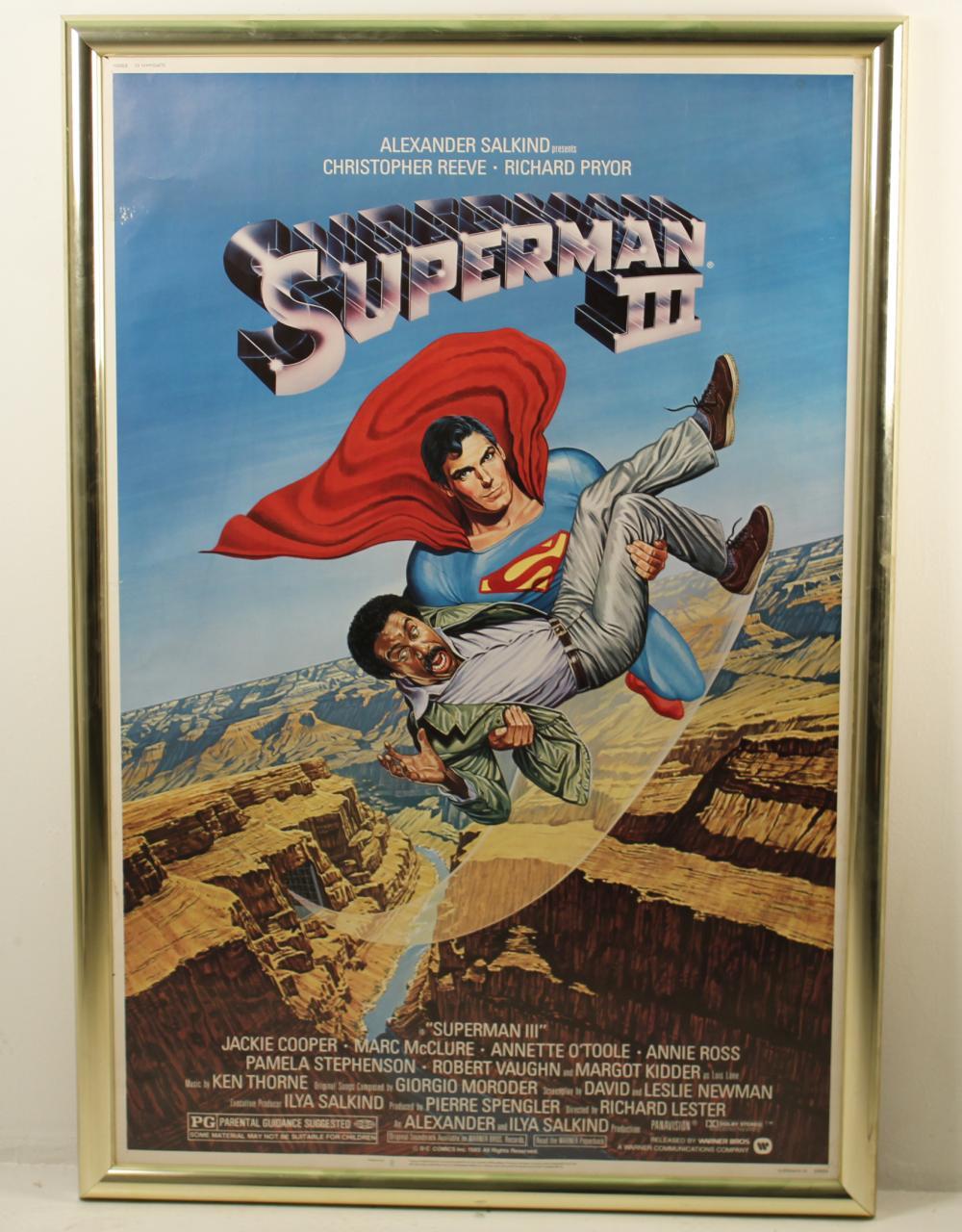 Lot 398: SUPERMAN III