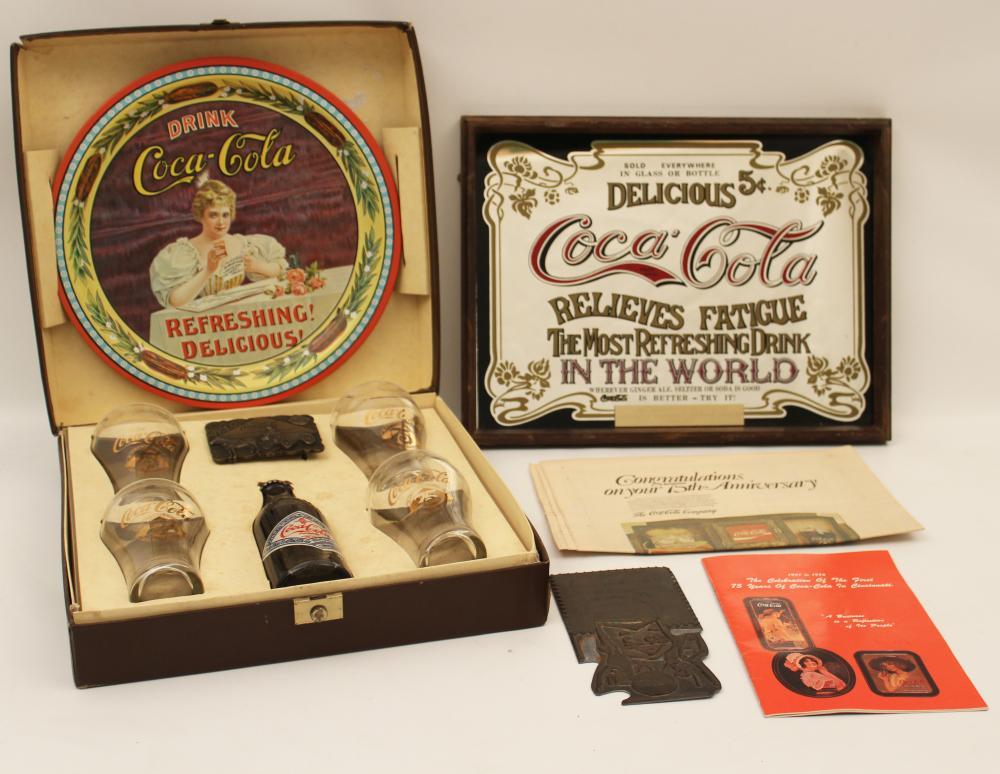 Lot 403: COCA-COLA EXECUTIVE COLLECTION