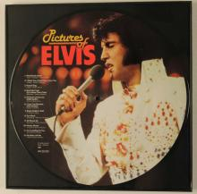 Lot 409: 14 ELVIS PRESLEY FRAMED RECORDS