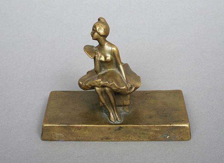 P. Tereszczuk Bronze Ballerina Sculpture