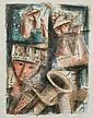 Emil Weddige Artist Proof of Musicians, Emil Weddige, Click for value