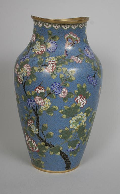 Chinese Cloisonne Vase c. 1900