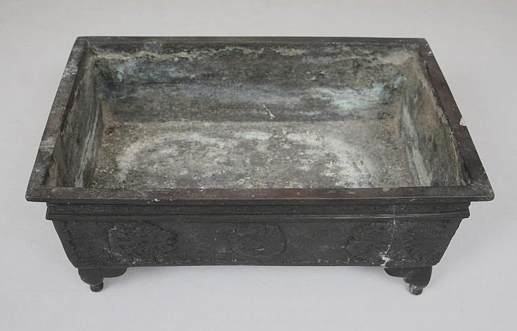 Chinese Bronze Cachepot