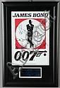 James Bond Autographed Movie Memorabilia