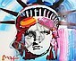 Peter Max Liberty 2000 Painting on Paper