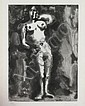 Picasso Sable Mouvant Nude Aquatint