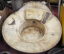 1. Unique Victorian Tin Bathtub