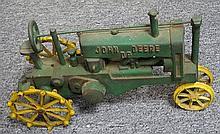 14. John Deere Metal Tractor Toy