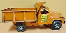 42. Buddy L Highway Maintenance Dump Truck
