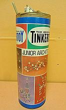 43. Tinker Building Toy Box w/ Contents