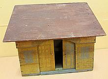49. Early Wooden Toy Barn