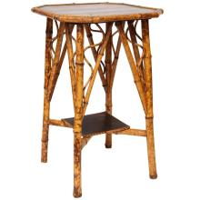 Fine 19th Century English Bamboo Lacquer Side Table