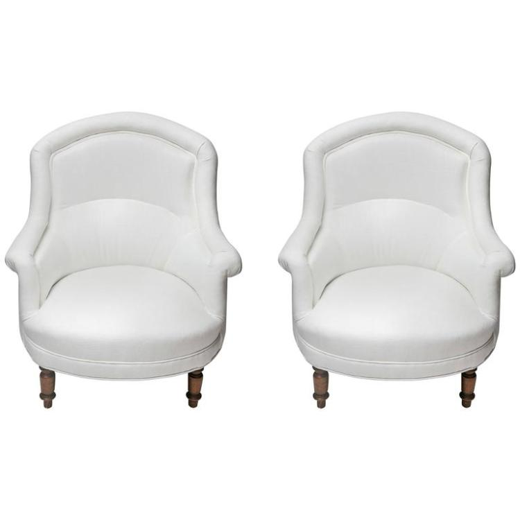 Late 19th Century Pair of Charming Provencal French Armchairs