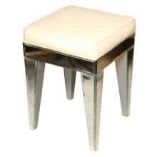 French Mirrored Stool