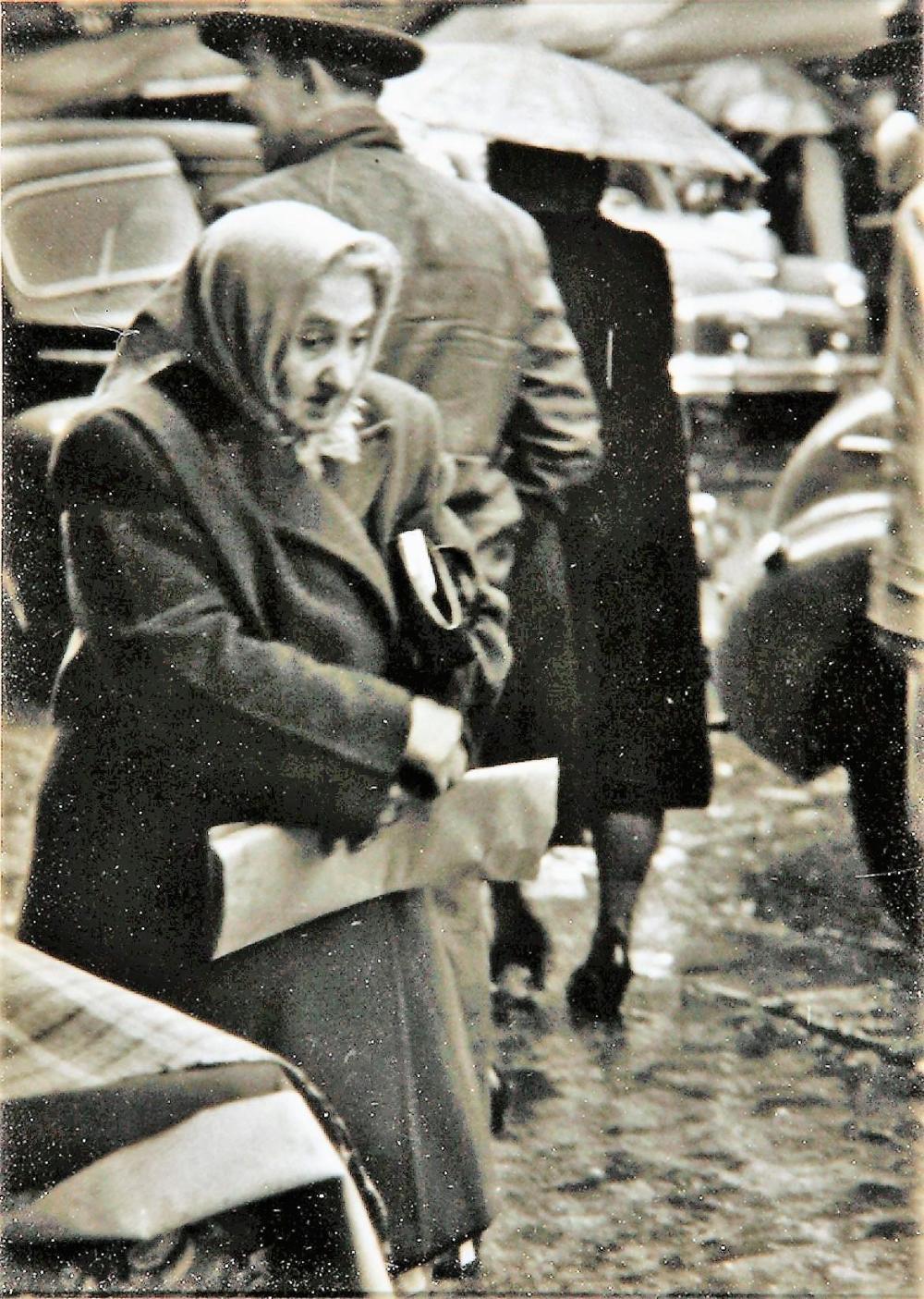 "SAM MAHL VINTAGE PHOTO ""MAMA "" CIRCA 1950"