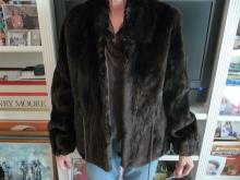 AUTHENTIC BEAVER FUR JACKET--FULLY LINED
