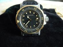 TIFFANY & CO 18K DIVERS WATCH