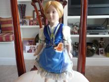 HANSEL & GRETAL VINTAGE COLLECTIBLE PORCELAIN DOLLS